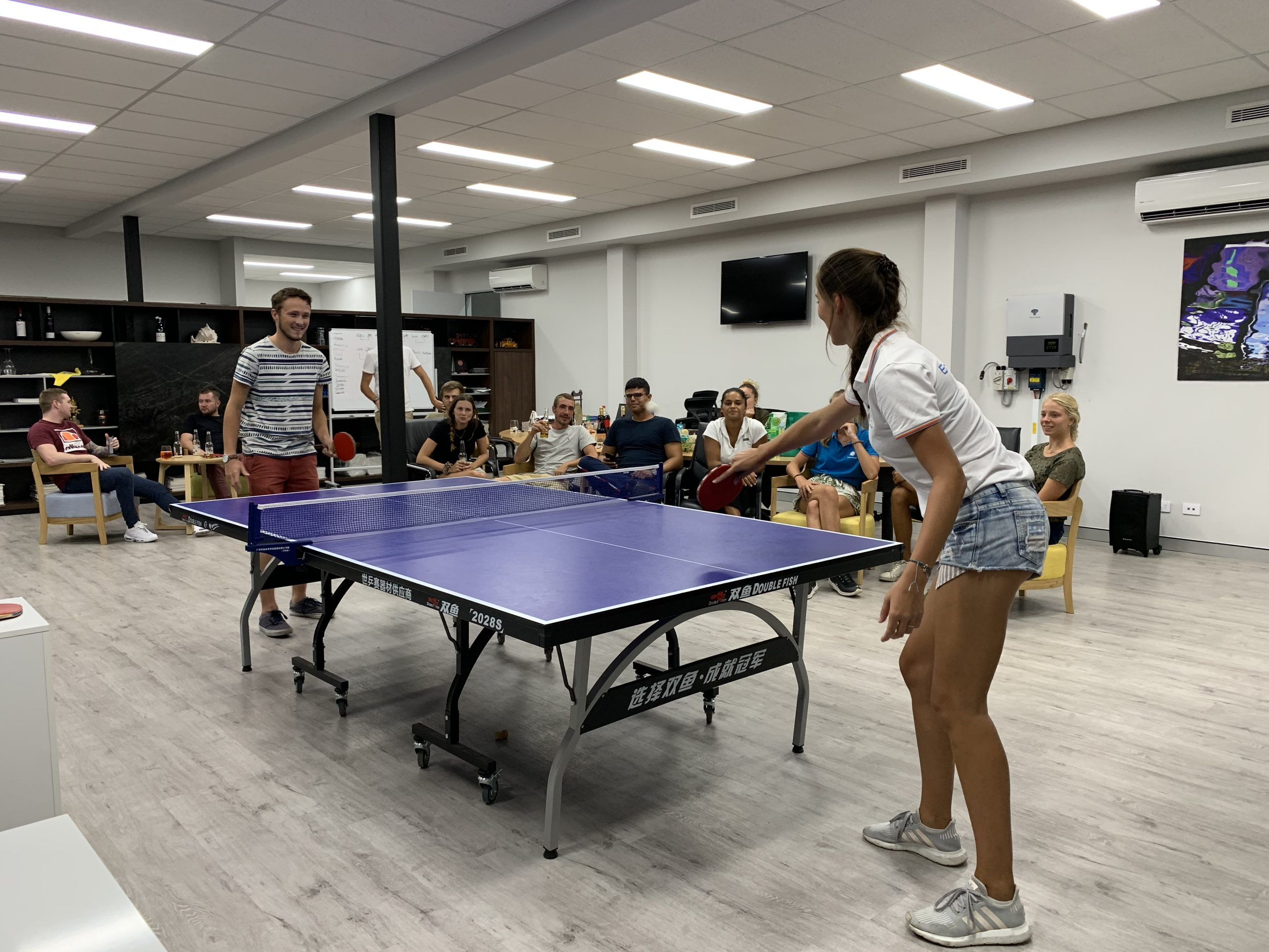 Energy Formula Office Ping Pong