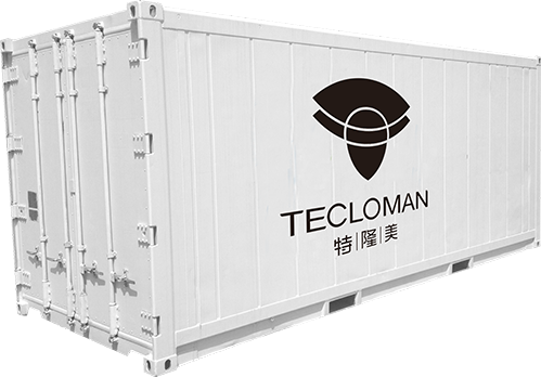 Shipping Container Commercial Solar Battery