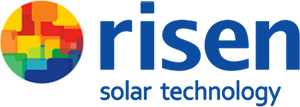 Risen Solar logo Blue